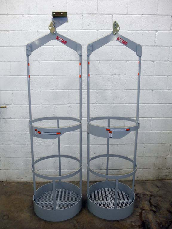 Round Workbaskets w/ Optional Top Mount and hoist rental